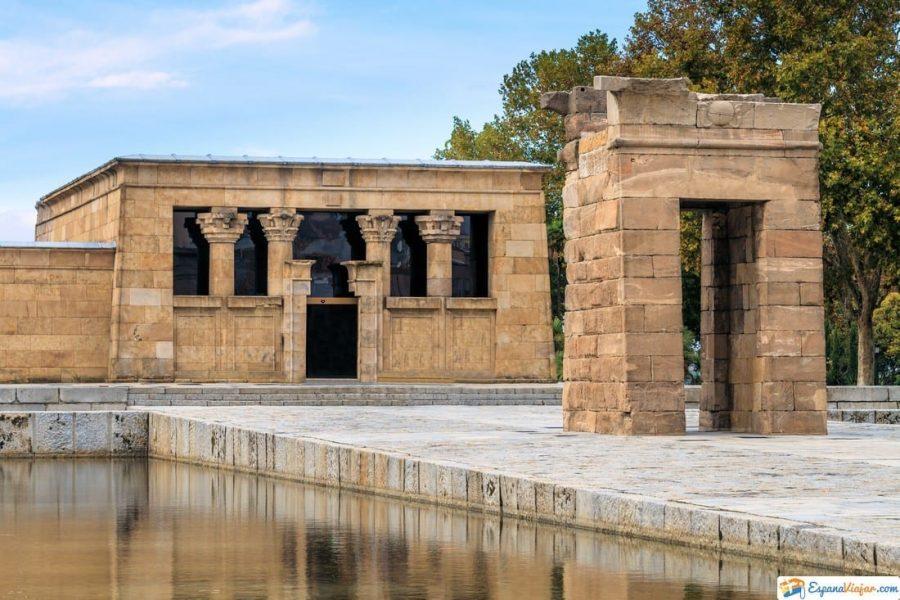 historia del templo de debod