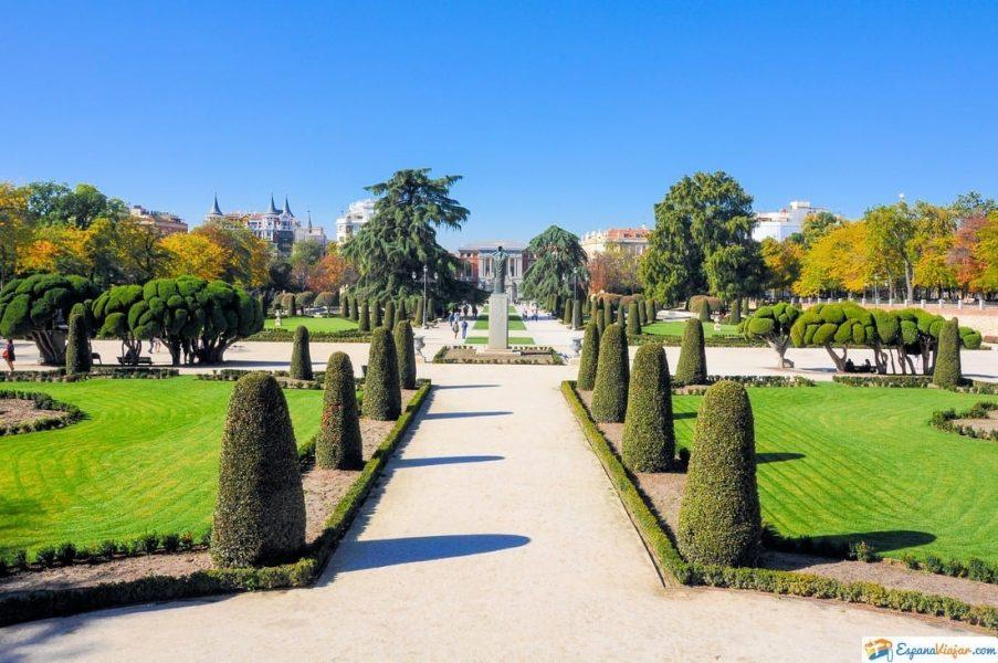 jardines del parterre madrid