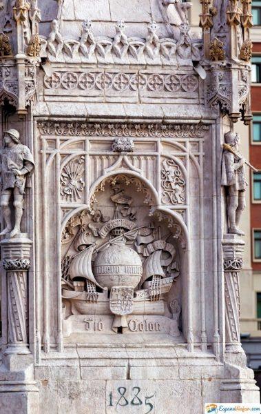 monumento al descubrimiento de america plaza colon