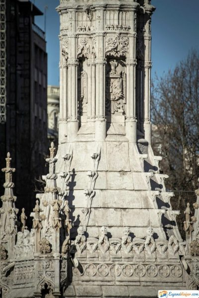 plaza de colon monumento