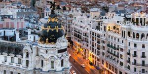 calles gran via madrid