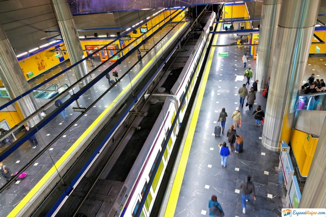 carril metro madrid