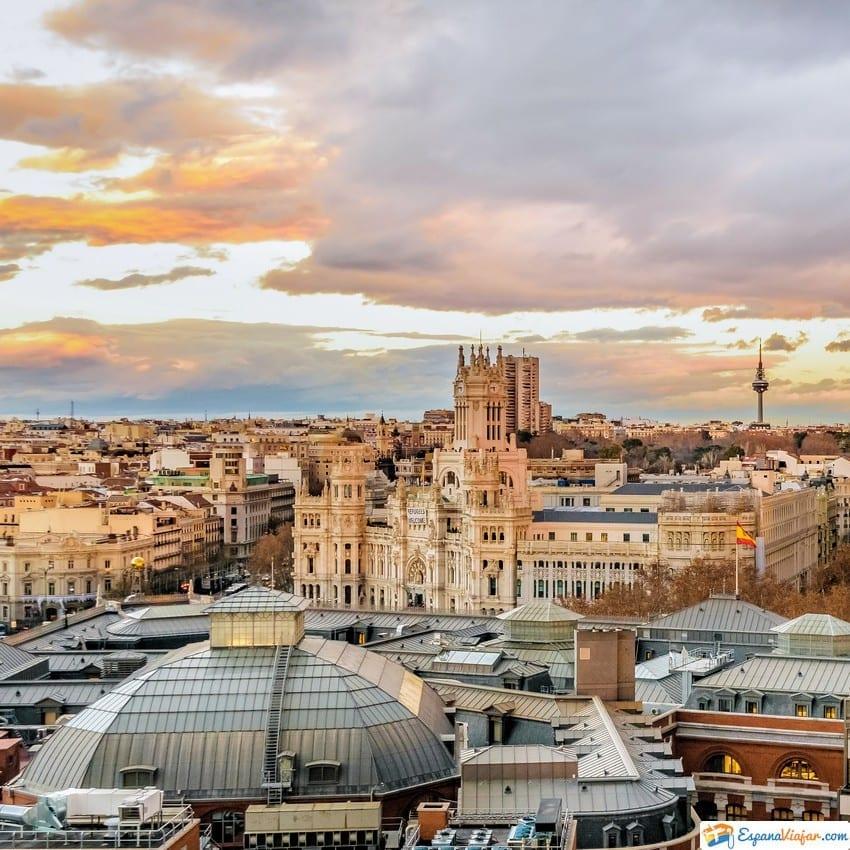 Círculo de Bellas Artes en Madrid