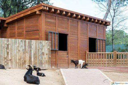 espacio del zoo de madrid