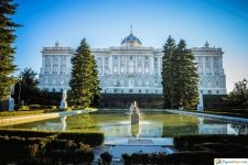 los jardines de sabatini en madrid