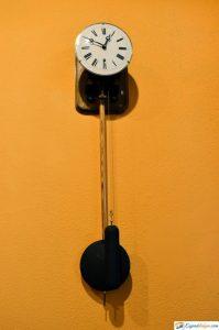 reloj museo del ferrocarril