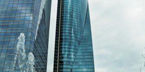 torre de cristal en madrid españa