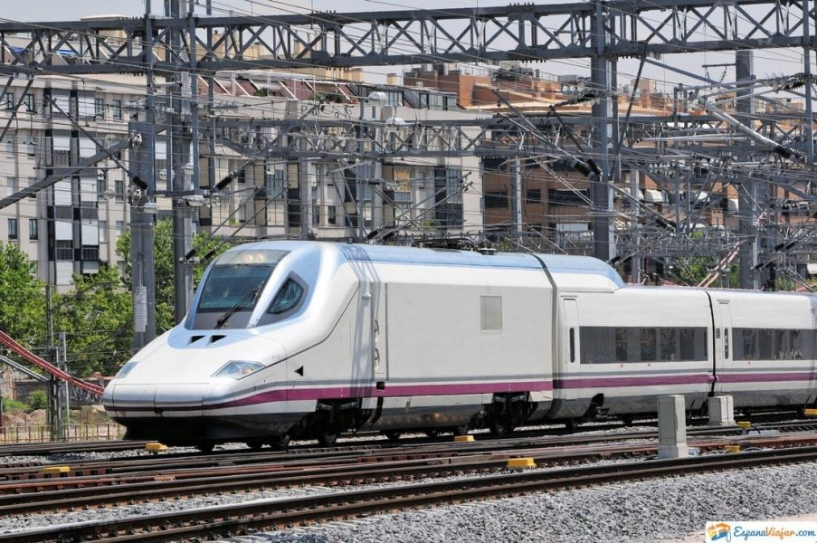 tren alta velocidad en atocha