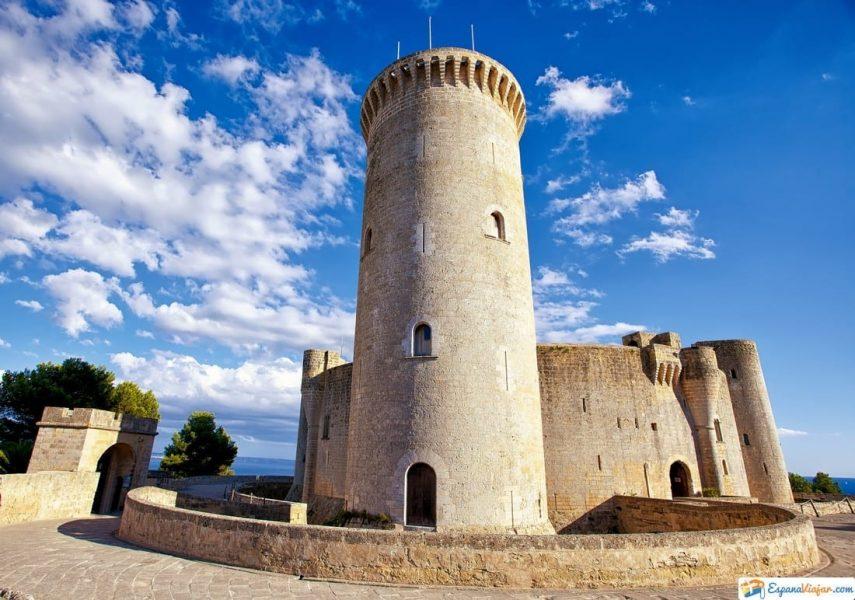 Castillo de Bellver en Baleares