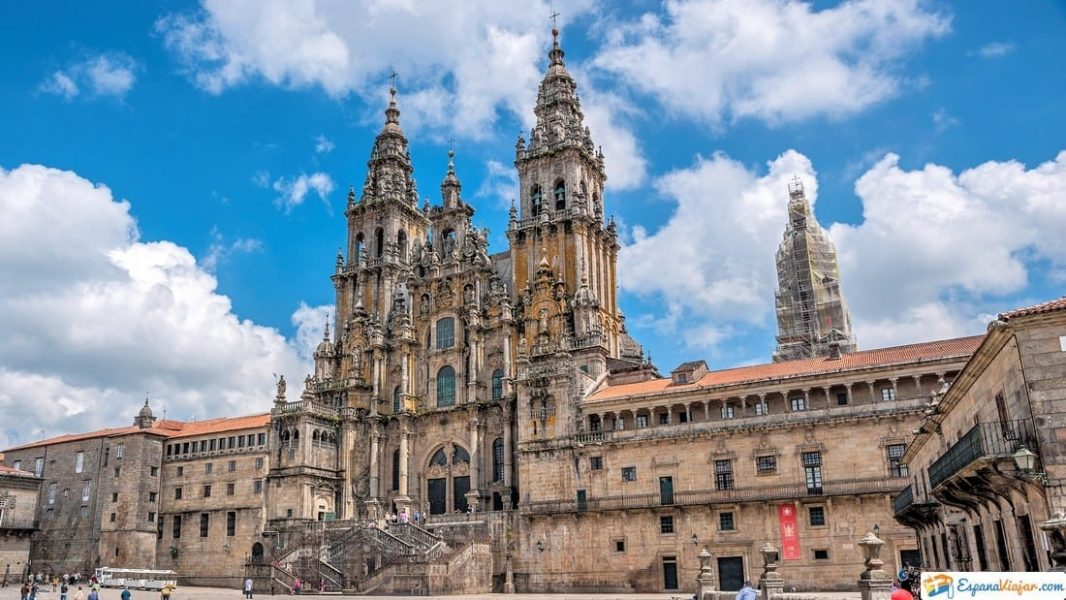 catedral de santiago de a compostela en españa