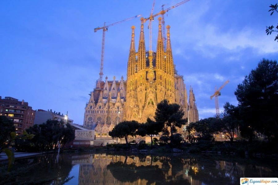 sagrada familia barcelona españa