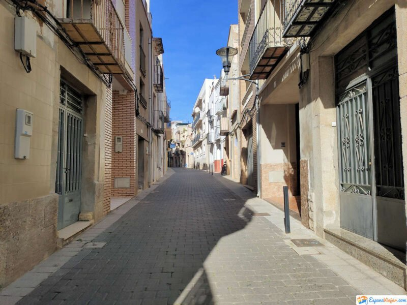 Calles en Alcalá de Xivert
