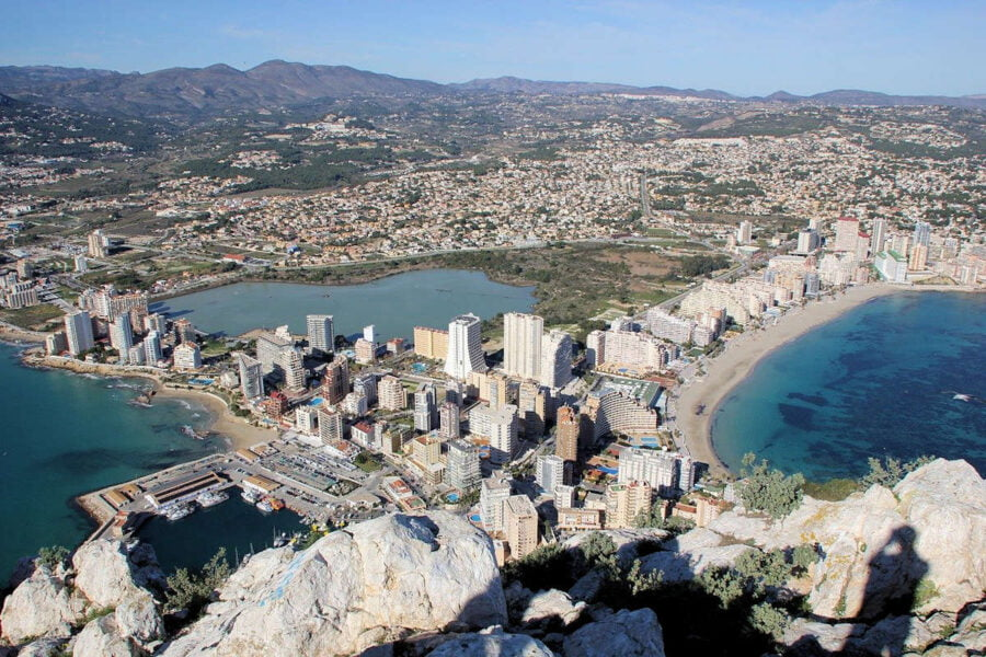 Calpe pueblos de Alicante