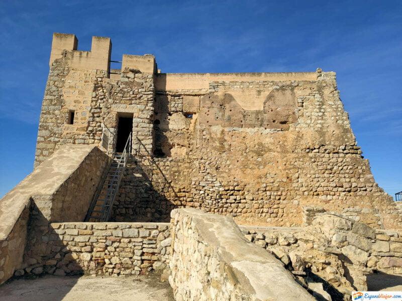 Vistas del Castillo de Alcalá de Xivert