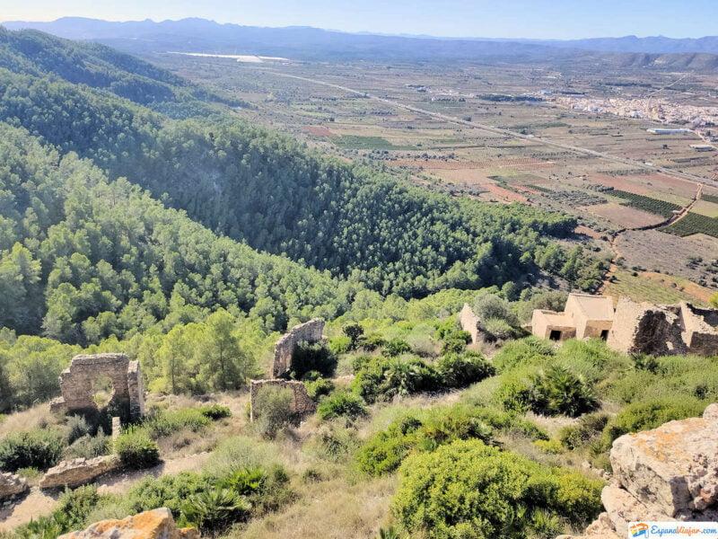 Vistas desde el Castillo de Alcalá de Xivert