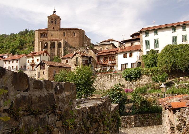 Pueblos mas bonitos de Navarra. Roncal