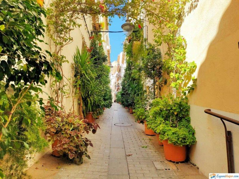 Calles con encanto en Jávea