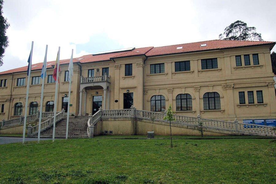 Casa Consistorial de Corcubión