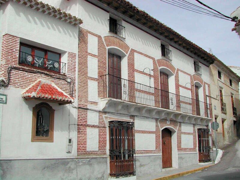 Casas típicas en Vélez Blanco