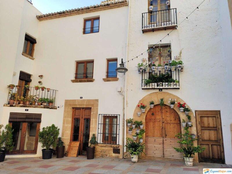 Casas y calles con encanto de Jávea