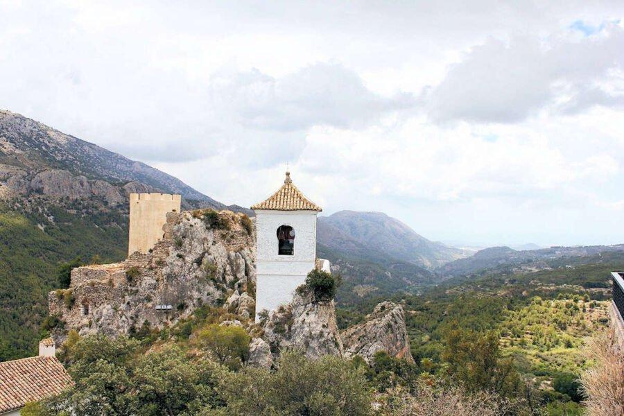 Castillo de la Alcozaiba en Guadalest