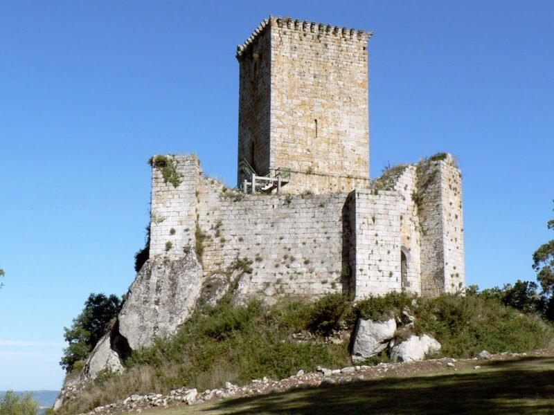 Castillo de los Andrade en Pontedeume