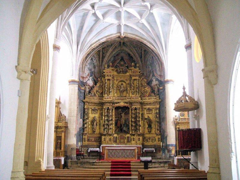 Entrada a la Ermita del Santo Cristo - Labastida