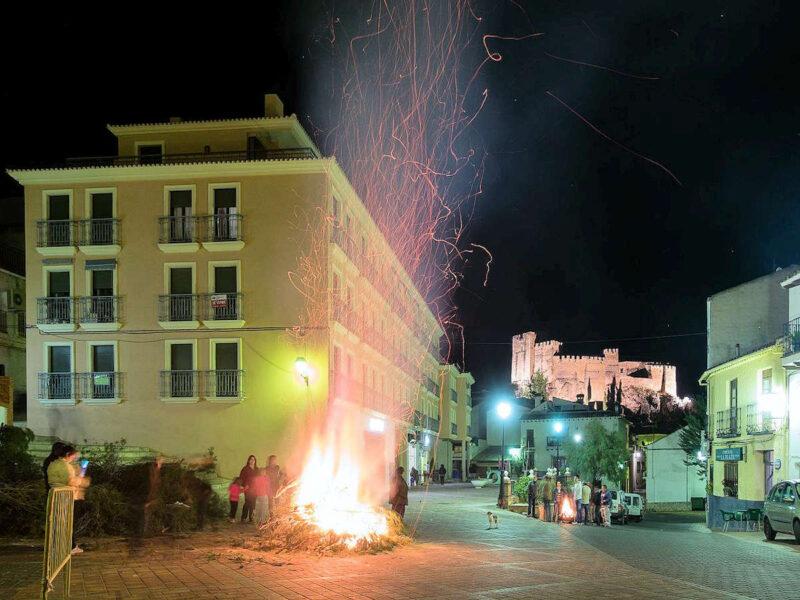 Festival de Santa Lucia en Yeste