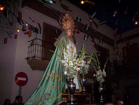 LUCAIMENA DE LAS TORRES- festividades