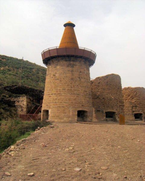 Hornos de calcinación en lucainena de las Torres