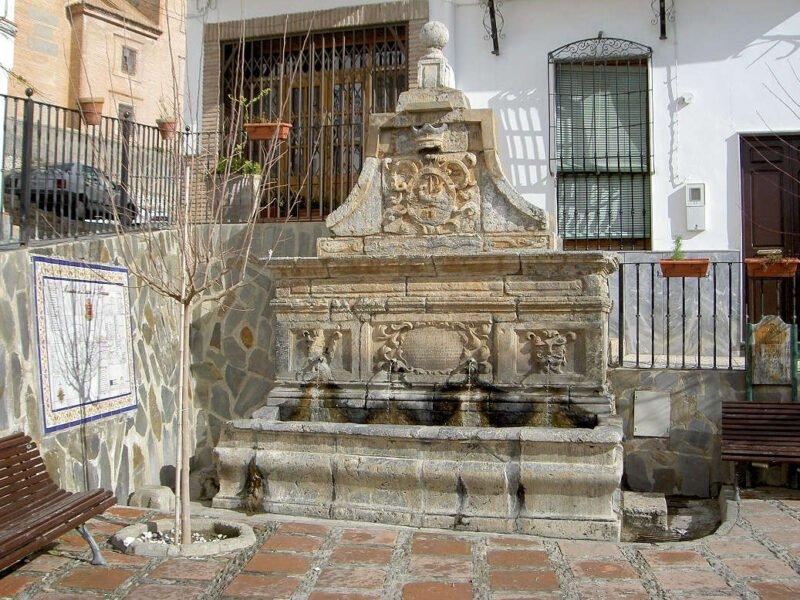 Pilar de la Plaza de Laujar de Andarax