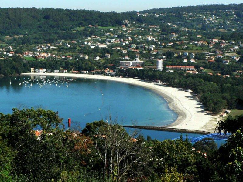 Playa a Magdalena - Pontedeume