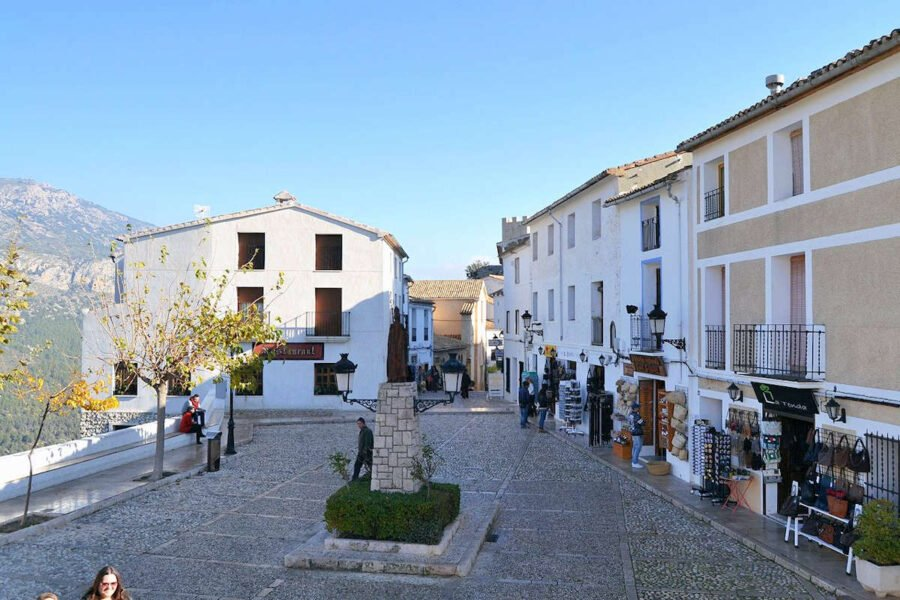 Plaza de Sant Gregori-Guadalest