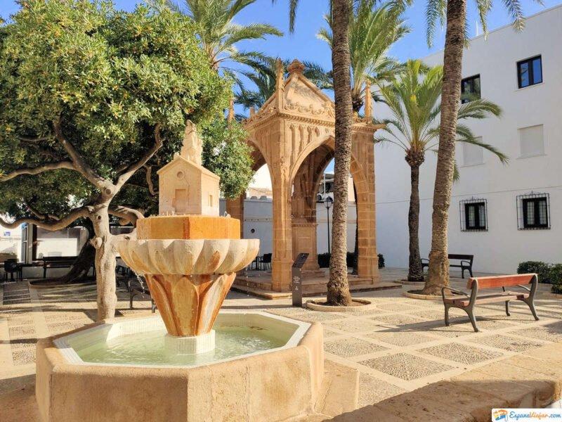 Plaza del mestre tosquer Vicent de Gràcia