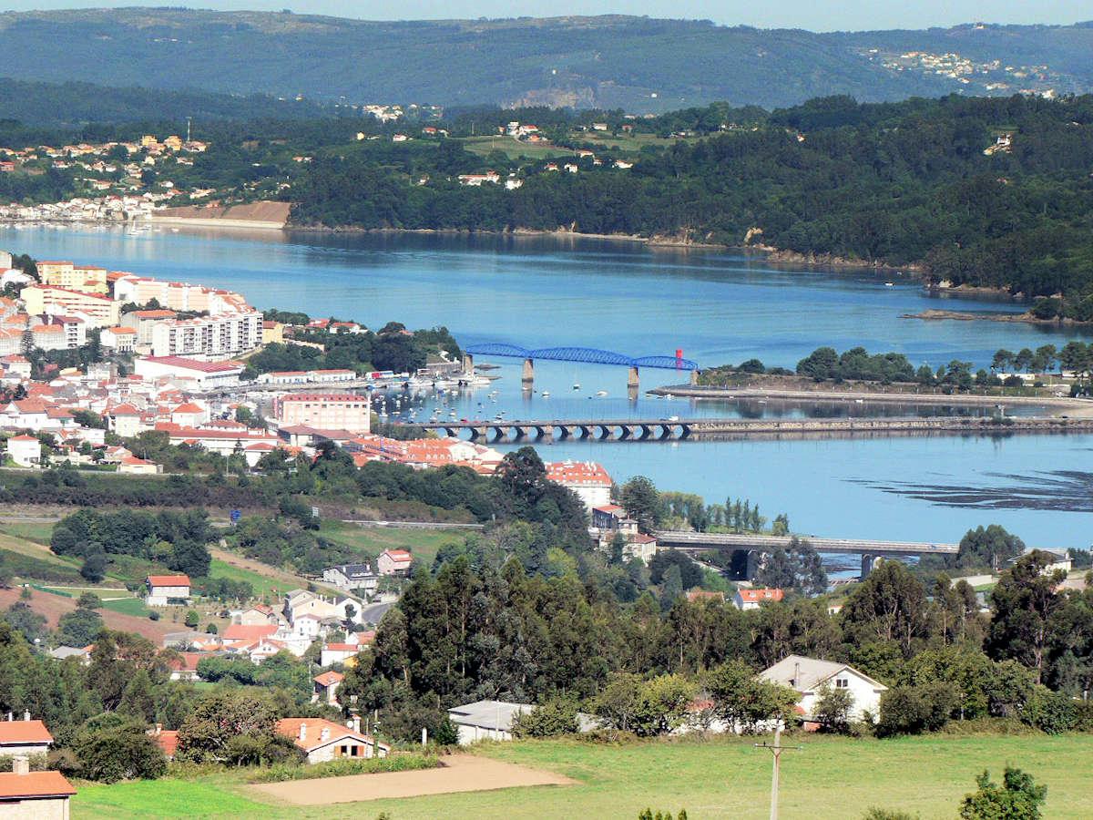 PONTEDEUME-pueblo de A Coruña