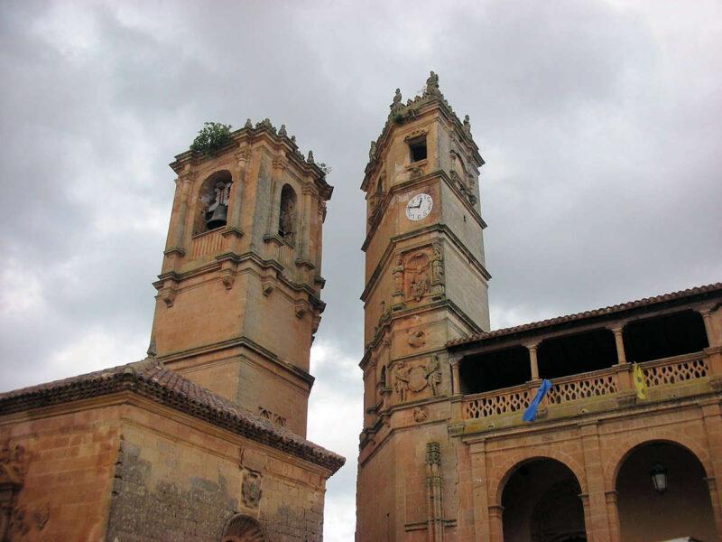 Torre del tardón en Alcaraz