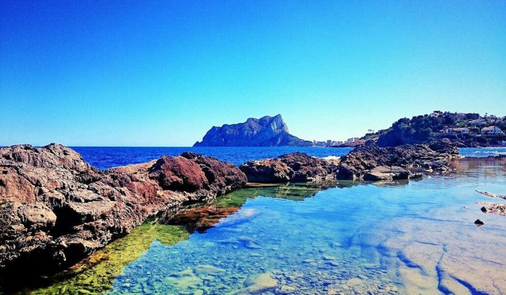 Visitar las playas de Calpe