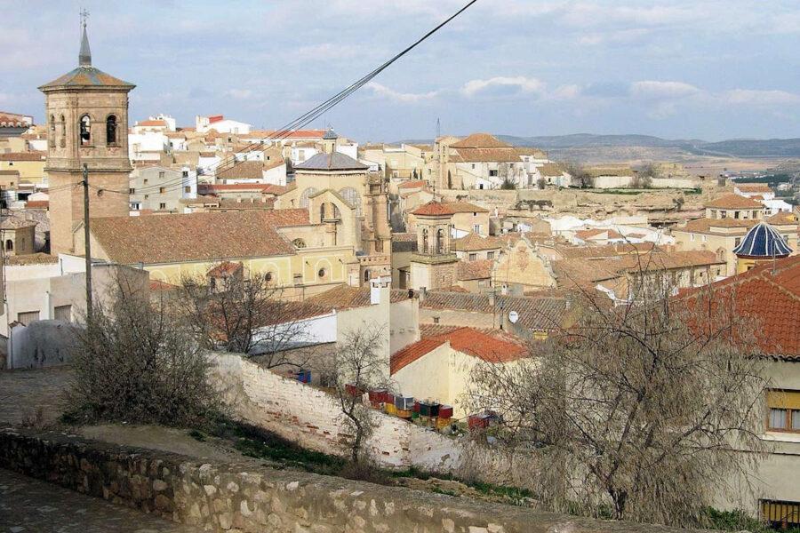 Vistas de Chinchilla de Aragón
