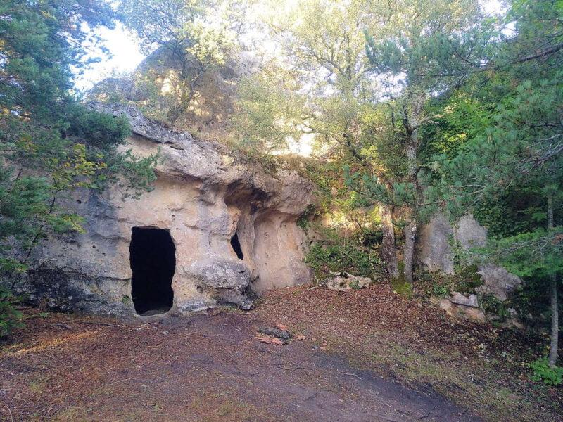 cuevas eremíticas de Villanueva De Valdegovía