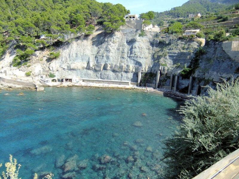 Playas y calas de Banyalbufar