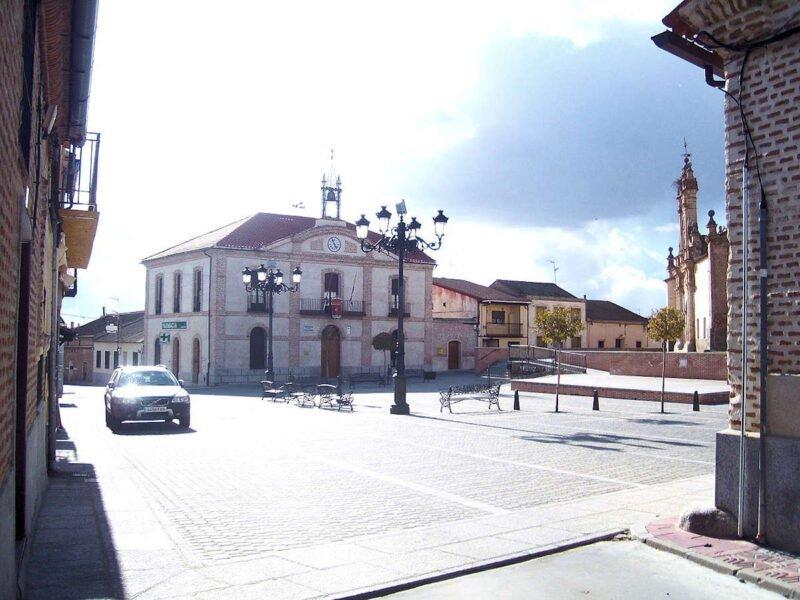 Plaza Mayor de Adanero
