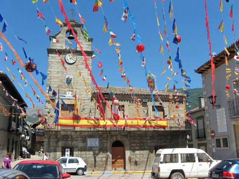 Plaza de la Villa en La Adrada