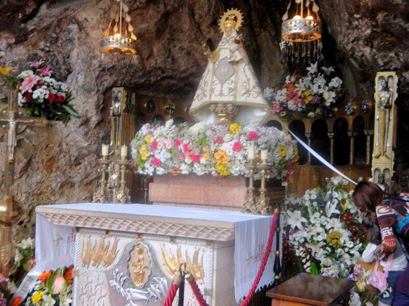Virgen de la Covadonga