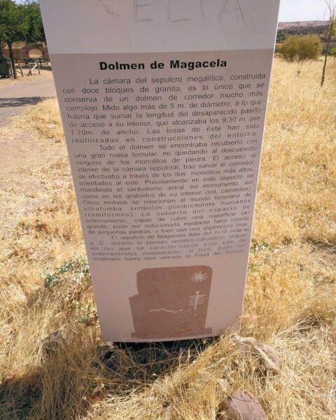Visitar el Dolmen de Magacela