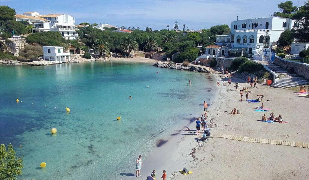 Cala Santandria en Menorca