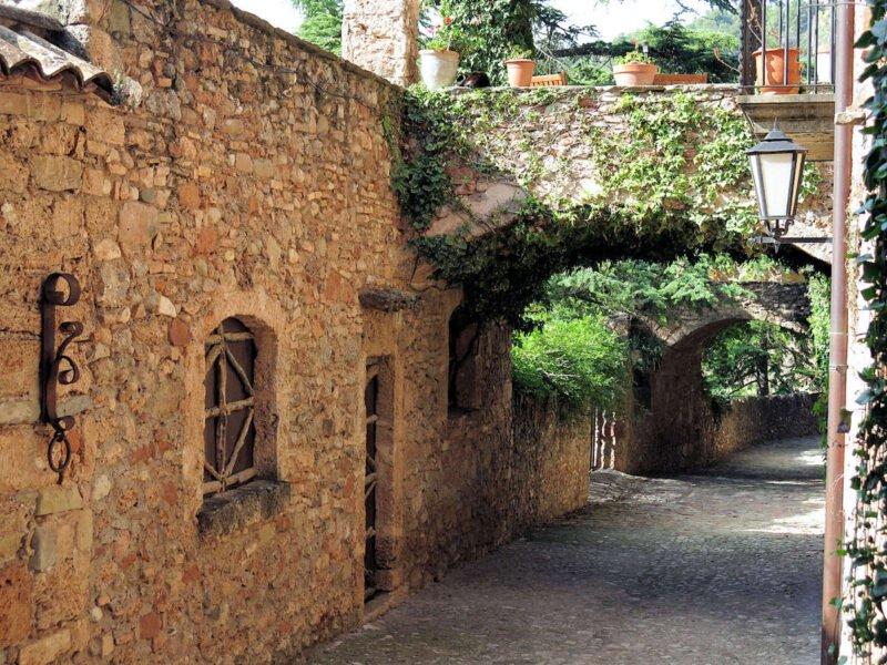 Calles de Mura en Barcelona