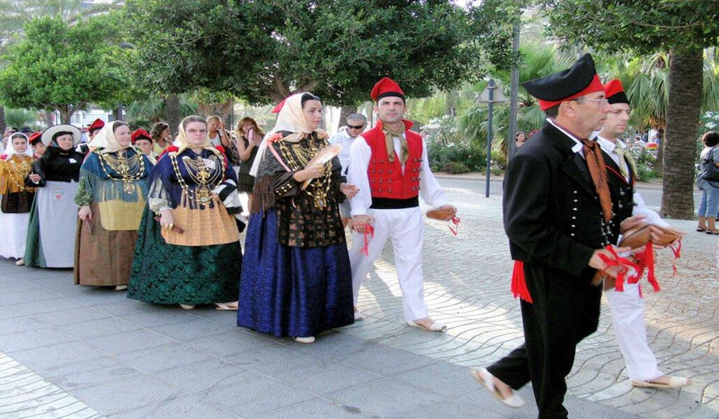Festividades en San Antonio