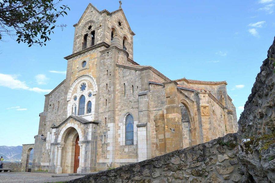 Iglesia de San Vicente de Frías