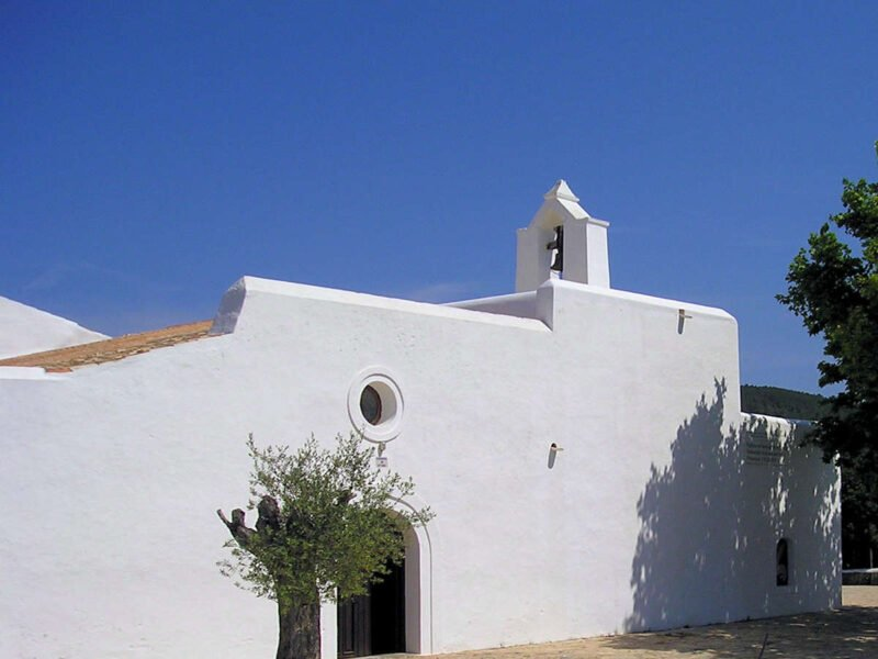 Iglesia en Santa Agnes de Corona Ibiza