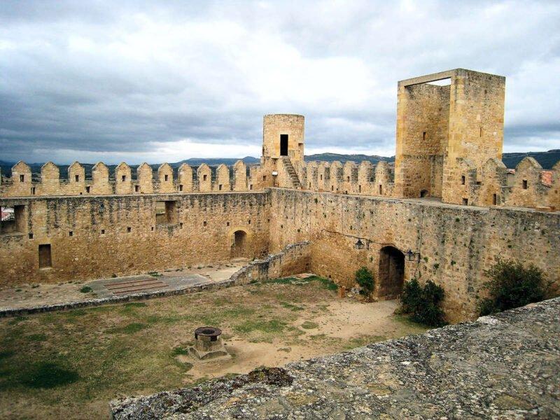 Interior Castillo de los Duques de Frías
